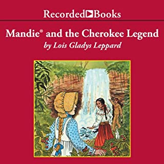 Mandie and the Cherokee Legend audiobook cover art