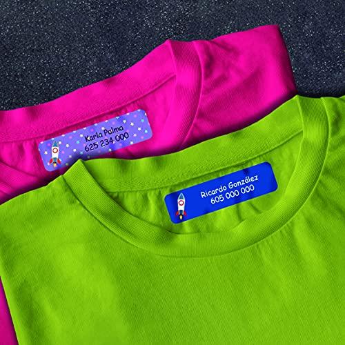 Etiquetas Adhesivas Personalizadas para Ropa Marca Detalles Creativos