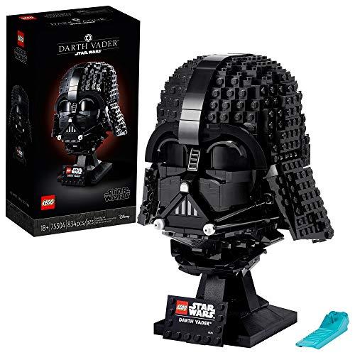 LEGO Star Wars Darth Vader Helmet 75304 Collectible Building Toy, New 2021 (834 Pieces)