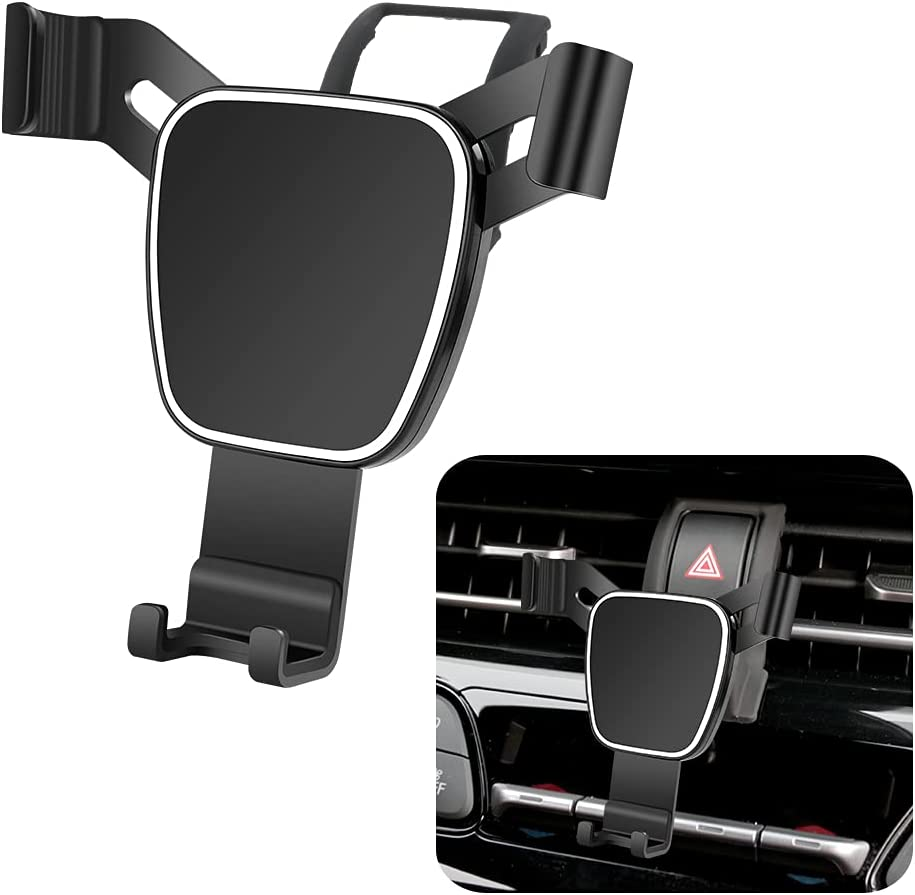 LUNQIN Car Phone Holder for 2018-2021 Toyota CHR Auto Accessories Navigation Bracket Interior Decoration Mobile Cell Phone Mount