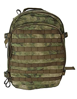 Hank's Surplus Military Style Molle Travel Hiking Camping Multi Day Backpack (A-TACS (FG))