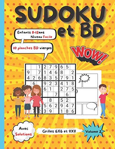 Sudoku et BD   enfants 8 – 12 ans  ...