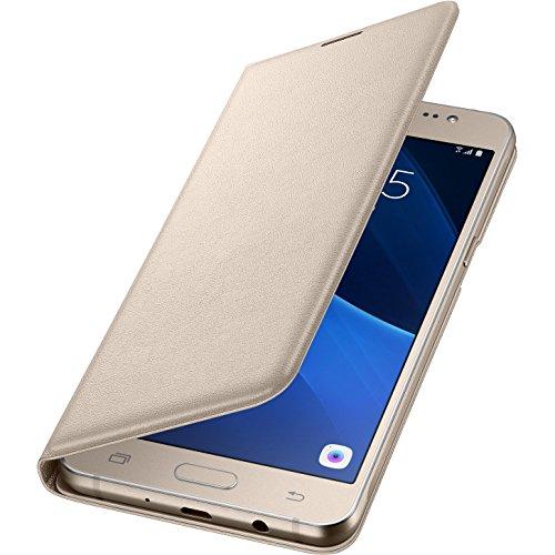 Samsung Flip Wallet Schutzhülle (geeignet für Samsung Galaxy J5 (2016)) gold