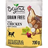 Beyond Grain Free Dry Cat Food Rich in Chicken 700g (Pack of 4)