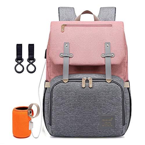 Starry Sky luiertas rugzak voor moeder USB baby verzorging, nappy nursing tassen, mode, reis-luierrugzak voor kinderwagen kit