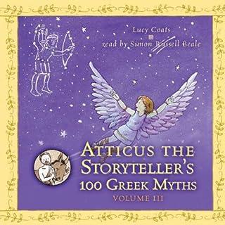 Atticus the Storyteller's 100 Greek Myths, Volume 3 cover art