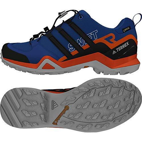 Adidas Terrex Swift R2 GTX, Zapatillas de Senderismo para Hombre, Azul (Acenat/Negbas/Naranj 000), 44 EU