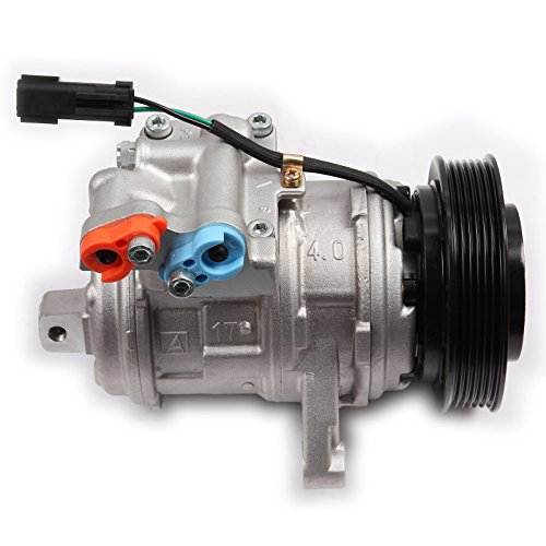 ECCPP CO 22034C AC Compressor with Clutch Repalcement for 1999-2004 for J-eep Grand Cherokee 4.0L Cooling