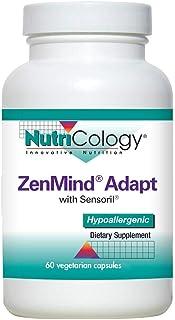 NutriCology ZenMind Adapt 60 Vegetarian Capsules