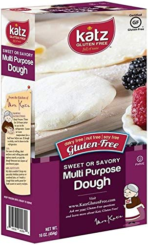 Katz Gluten Free Multi-Purpose Dough | Dairy, Nut, Soy and Gluten Free | Kosher (1 Pack, 16 Ounce)