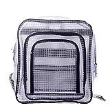 kang Li Fen エンジニアバッグ クリーンバッグ クリーンルーム用透明バック リュック 静電気防止