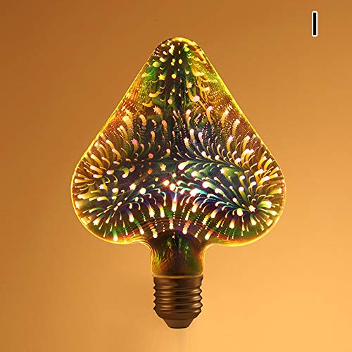 3D Colorful Firework Lights LED Starburst Multifunction String Light Decorative Lamp