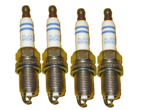 Price comparison product image 4 Piece Set of Bosch OEM Spark Plugs 0242240627 / FR6KPP332S - Audi / VW OE : 101905631B - NEW Platinum Iridium Volkswagen