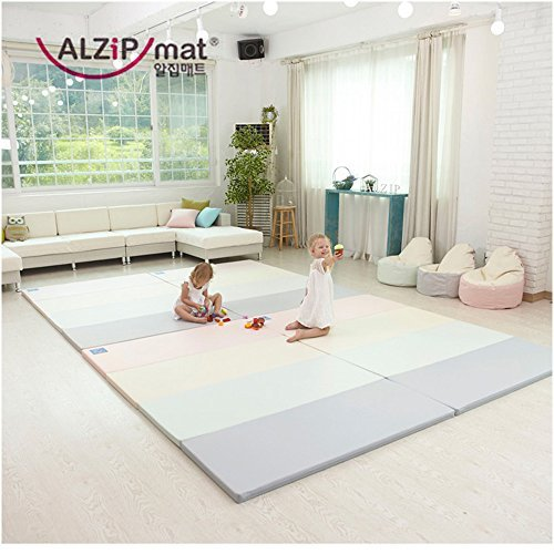 Review Of [Alzip New Eco Mat] Folding, Non-Toxic, Reversible SG Playmat -Modern Pink Color (240x140x...