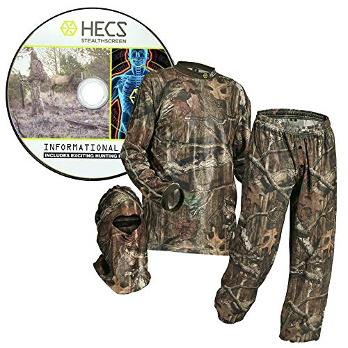 HECS Hunting 3-Piece Camo Suit - As Seen On History Channel's Face The Beast