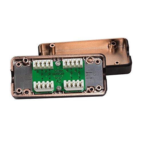 LogiLink NP0012B Verbindungsmodul für Kat.5/Kat.6/Kat.6A/Kat.7 schwarz