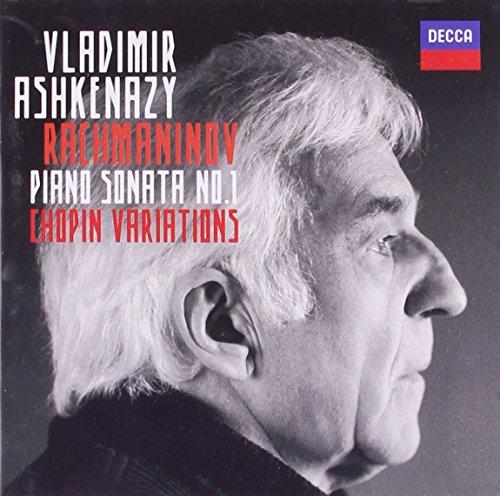 Rachmaninov: Piano sonata No. 1, Chopin Variationen