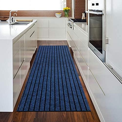 Alfombra de cocina de 43 x 73 cm, superabsorción antideslizante e impermeable para cocina, suelo, hogar, oficina..