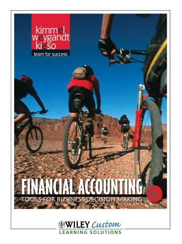 Financial Accounting, Tools for Business Decision Making 6E