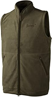 Seeland Bolton Fleece Waistcoat Pine Green