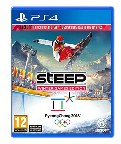 Ubisoft - Steep Winter Games Edition Ita PS4 [Importación italiana]