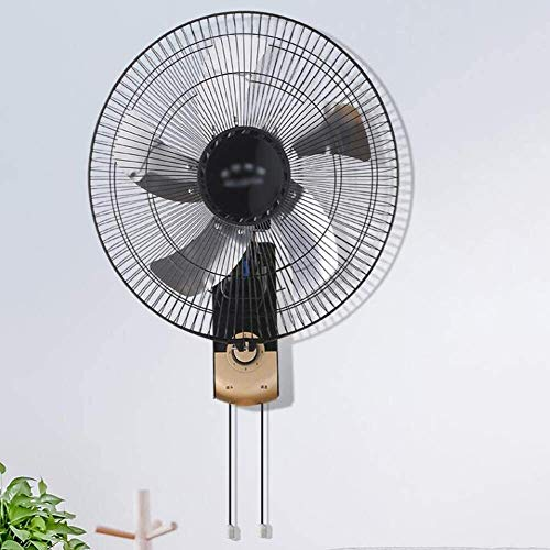 LAMTON Wand- Fan, mechanisch |DREI Geschwindigkeit |oszillierende |stille |Aluminiumblatt |Einstellbare Tilt |Umluftabzugshaube, 16 inches