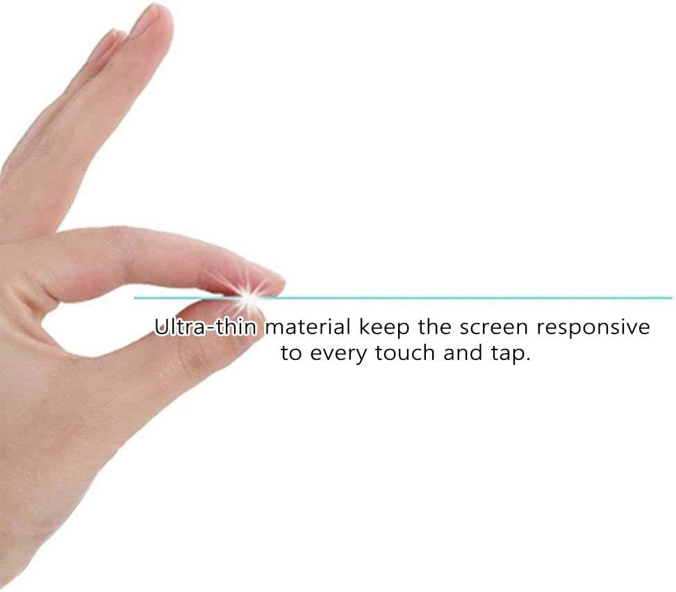 Puccy Tempered Glass Screen Protector Film, compatible with ASUS ZenScreen MB16ACE 15.6