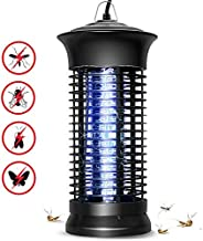 TYKING Electric Bug Zapper, Powerful Insect Killer, Mosquito Zappers, Mosquito lamp, Light-Emitting Flying Insect Trap for Indoor, Outdoor(Black)