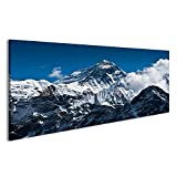 Bild Bilder auf Leinwand Mount Everest Mountain Peak - die