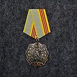 YUNjun UDSSR-Medaille WWII Lenin Rote Flagge Venus Roter Stern Held Sowjetische Arbeitsruhmmedaille I II III Stufe Arbeit Glorreiche Ehrenabzeichen