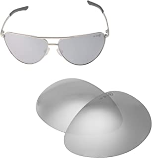Walleva Replacement Lenses for Smith Serpico Sunglasses - Multiple Options Available