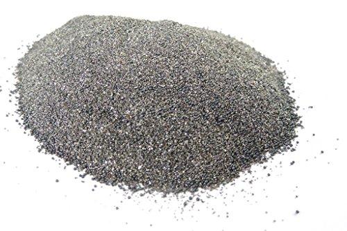 Acciaio in polvere, 100 - 300 μm, polvere di ferro, dura, in diverse quantità., 100g, grigio., 1