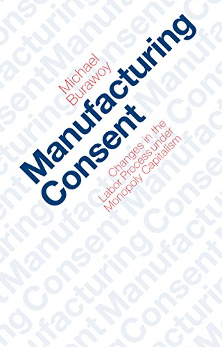 Manufacturing Consent: Changes in the Labor Process Under Monopoly Capitalism (English Edition)