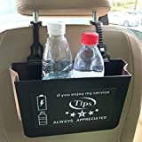 """Design for rideshare drivers U and L drivers to improve service Great box and 3in1 fast charge cable included Car organizer box with """"tips always appreciated"""" sticker Fix on the back of car seat to hold more things Box has been improved as foldable b..."""