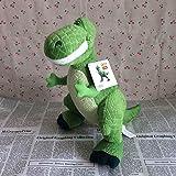 fangzhuo Peluche Peluche De Juguete Suave 40 Cm = 15,7 Pulgadas El Muñeco De Dinosaurio Rex Verde Rex Dinosaurio Muñeco De Peluche para Niño Regalo