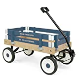 Berlin F257 Amish-Made Pee-Wee Flyer Ride-On Wagon, Navy