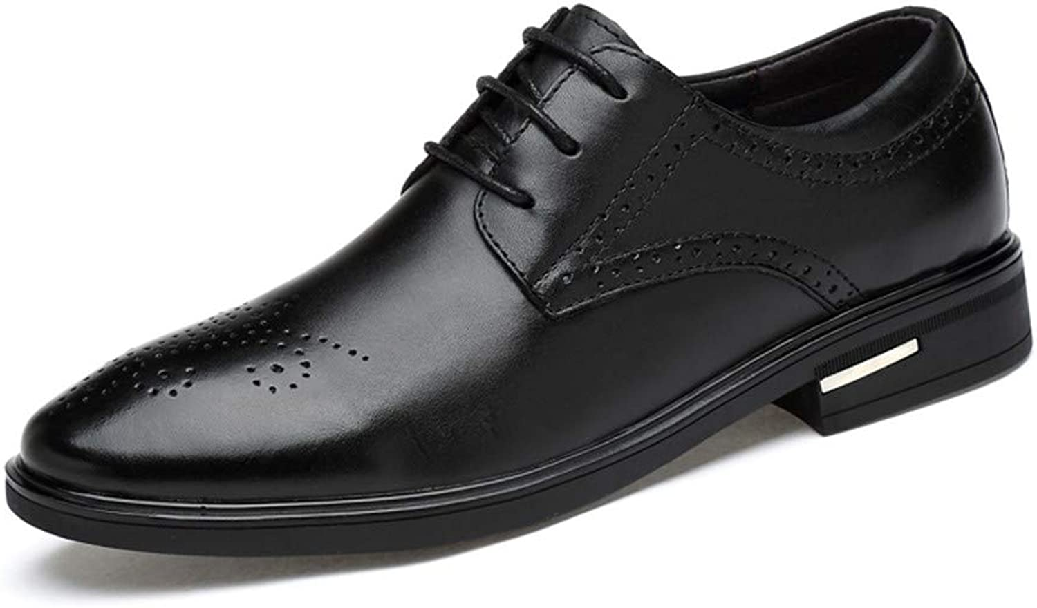Z.L.F shoes Modern Men's Business Oxford Casual Simple Classic Pointed Formal shoes Leather shoes