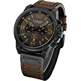 Mens Luxury Watches Business Chronograph Dress...