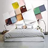 Living Equipment Murales Papel tapiz Efecto 3D Papel tapiz abstracto moderno para dormitorio Murales 3D Papel tapiz para sala de estar Decoración del hogar Papel tapiz fotográfico personalizado Mur
