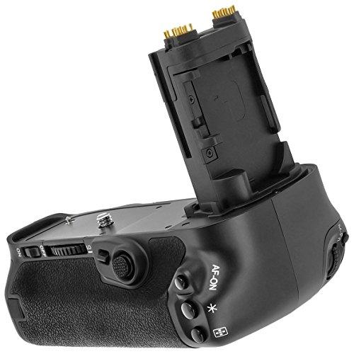 Meike MK-5D4 - Impugnatura per batteria per EOS 5D Mark IV, BG-E20, con batteria LP-E6