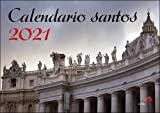 Calendario de pared santos 2021 (Calendarios y Agendas)