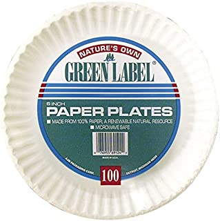 Best nature's own green label paper plates Reviews