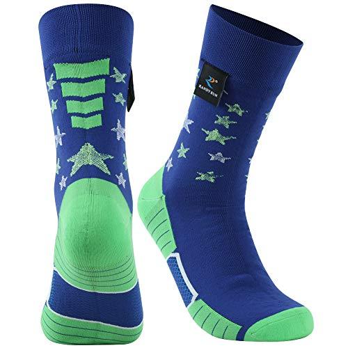 RANDY SUN Flag Luminous St. Patrick's Day Socks,...