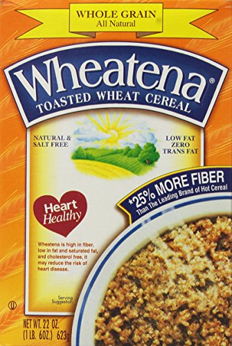 Wheatena Toasted Wheat Cereal 20Ounce Boxes Pack of 4
