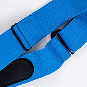 XUXIN Universal Replacement Heart Rate Monitor Soft Strap Adjustable Elastic Chest Mount Belt for Polar, Garmin, Wahoo