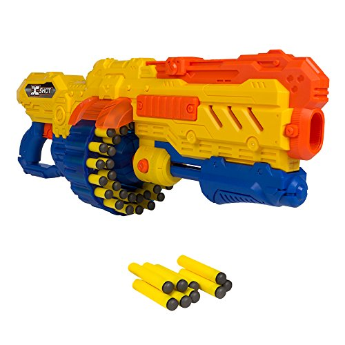 X-Shot - Pistola Turbo Advance cargador 40 dardos