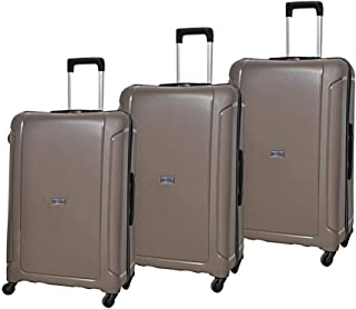 Magellan Hardside spinner luggage Set of 3 pieces -Brown