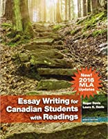 Essay Writing for Canadian Students (MLA Update) (8th Edition) 0134774213 Book Cover