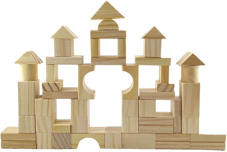 preferente Juguetes de projoección projoección projoección ambiental para Niños de lad 100 unidades de bloques de construcción de madera de juguete de desarrollo para Niños y Niños mayores de 3 años Aprendizaje formativo, regalos de nav  entrega rápida