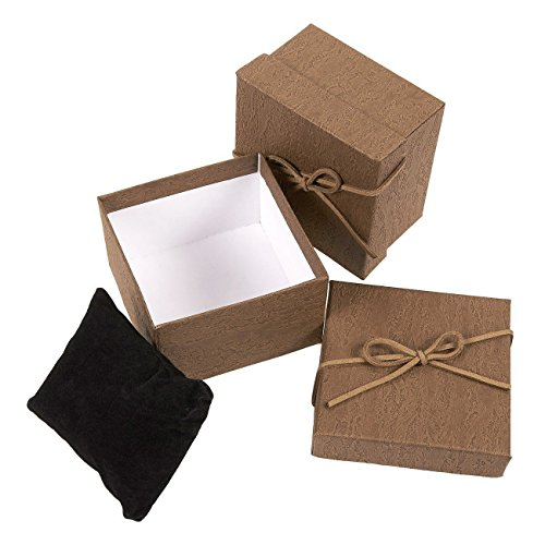 6-Piece Gift Box Set – Jewelry Gift Boxes for Anniversaries, Weddings, Birthdays - 3.5 x 2.3 x 3.5 Inches